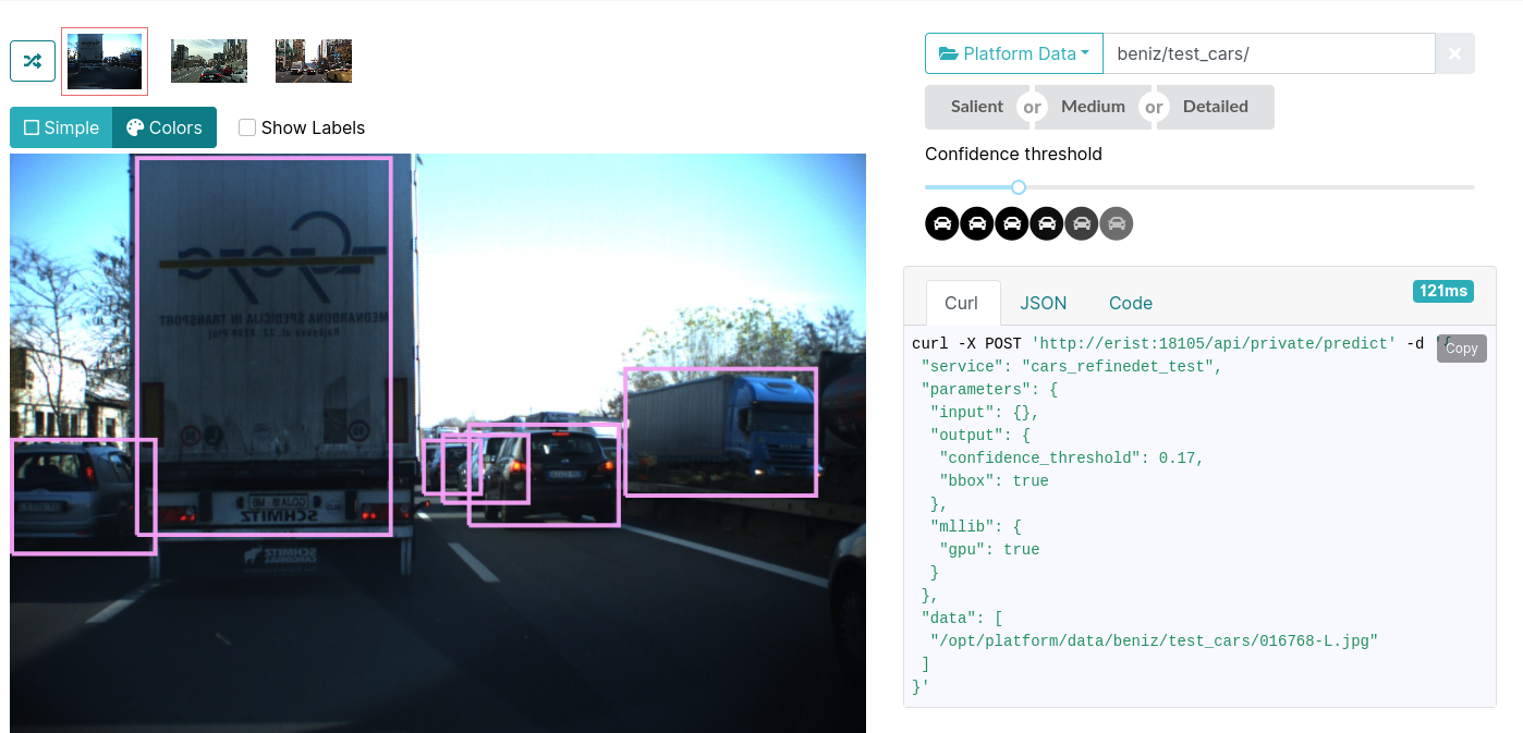 Cars detection
